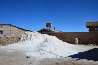 Ein Salzhaufen