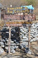 Eingagn zum Rio Colorado