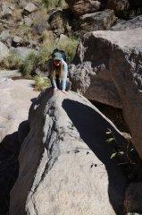 Wanderung beim Rio Colorado