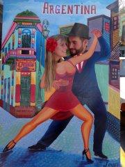 Wir üben den Tango :-)