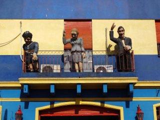 El Camanito in Stadtviertel la Boca