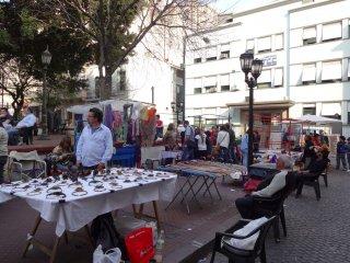Plaza de Dorrego in San Telmo mit dem Antiquitätenmarkt