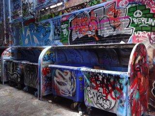 Die Graffity Strasse