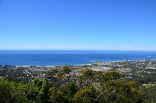 Lookout auf dem Weg von Sydney nach Melbourne