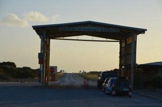 Die Grenze zu Westaustralien