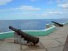 Alte Kanonen beim Waterfront Boulevard