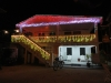Weihnachtsbeleuchtung in Caye Caulker