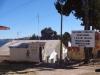 Das Immigrationshäuschen von Bolivien