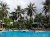 im Hotel in Koh Phangan mit Emanuels Schwester