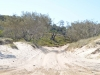 Überall tiefer Sand