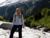 Sara ufem Gletscher