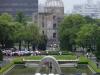 Der Peace Memorial Park bei schlechtem Wetter