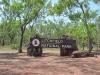 Lichtfield National Park Eingang