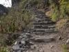 den Inka-Pfad hoch