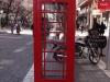 Die Telefonkabine die an England erinnert