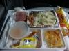 Das Essen im Bus