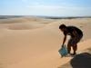 Sandboarden...