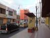 Die Hauptstrasse in Nazca