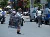 Einer der vielen Strassenhändler