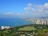 Ausblick vom Diamond Head auf Honolulu