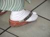 so tragen viele Japanerinnen ihre Schuhe