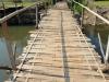 wie lange die Brücke wohl halten wird...