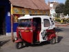 Tuktuk in Peru!