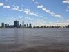 Aussblick vom Swan River auf CBD