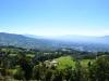 die wunderschöne Aussicht auf das Tal