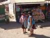 Bolivianische Frauen am reden