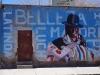 bemalte Wand in Uyuni