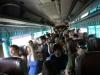 Der Bus ist total überfüllt!