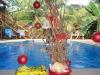 Unser Weihnachtsbaum mit Geschenken (Bier)