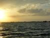 Sunset im Wassertaxi
