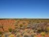 Uluru in der Ferne