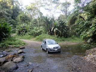 Durch den Fluss hindurch :-)