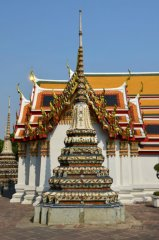 Der Wat Pho Tempel