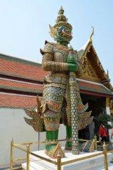 Der What Phra Kaeo Königspalast