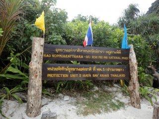 Maya Bay - das Setting von The Beach