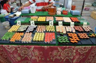 Sushi für unglaubliche 5 Baht!