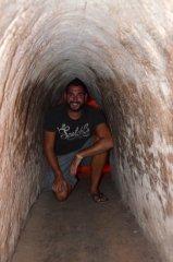 Emanuel im Touristentunnel